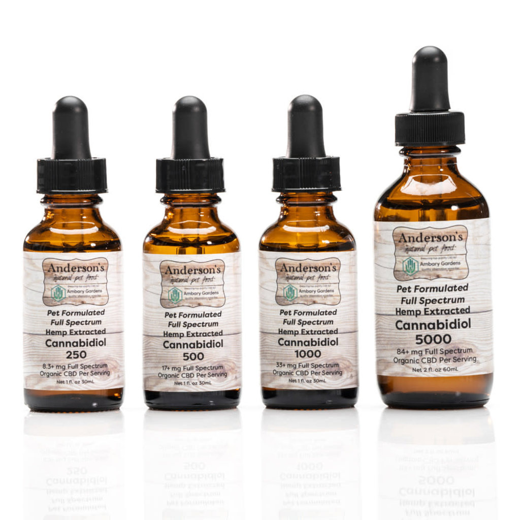 Anderson's Natural Pet Food Anderson's CBD Oil (500-5000mg)