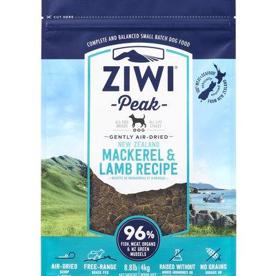 Ziwi Peak Ziwi Peak Air-Dried Dog Mackerel & Lamb 8.8lbs