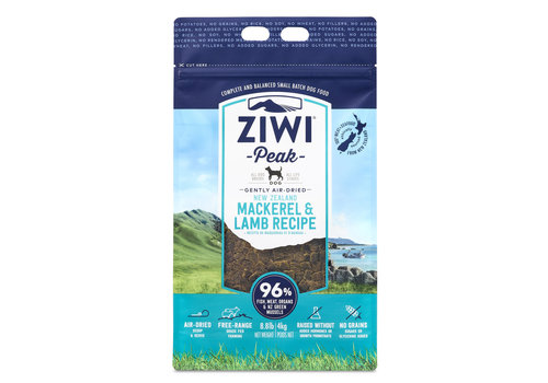 Ziwi Peak Ziwi Peak Air-Dried Dog Mackerel & Lamb 8.8lbs