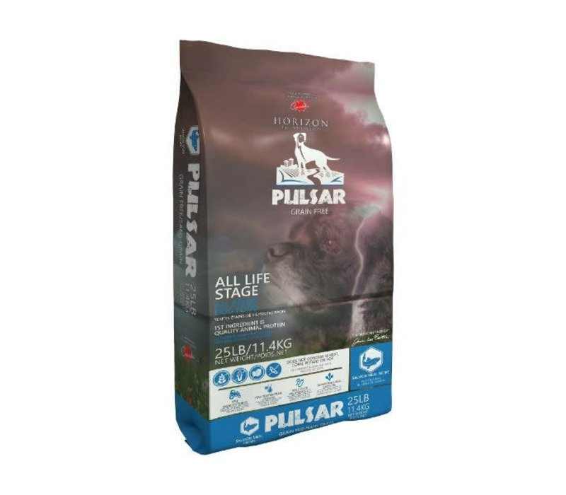Horizon Pulsar Salmon Meal Recipe Grain-Free Dry Dog Food 25#