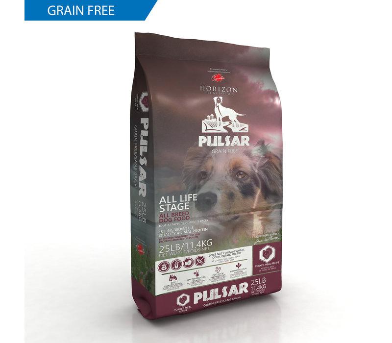 Horizon Pulsar Turkey Meal Recipe Grain-Free Dry Dog Food 25#