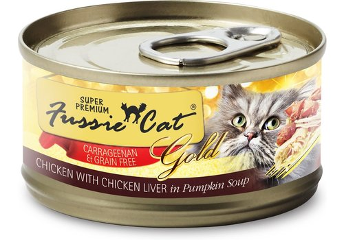 Fussie Cat Fussie Cat Chicken/Chicken Liver 2.8oz
