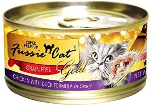 Fussie Cat Fussie Cat Chicken/Duck 2.8oz