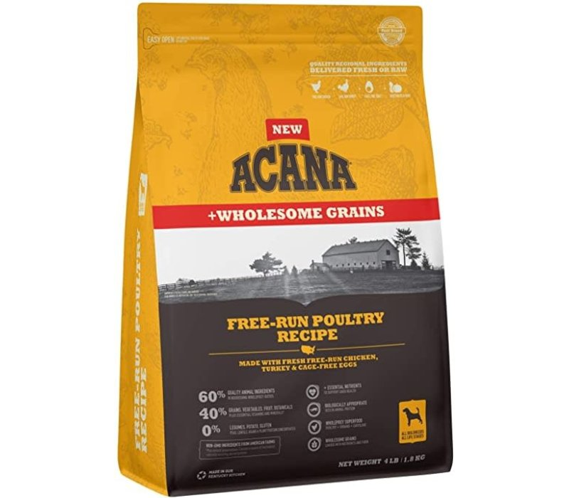 Acana Free Run Poultry 4#