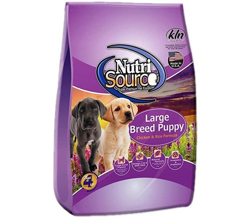 Nutrisource NS Large Breed Puppy 15#