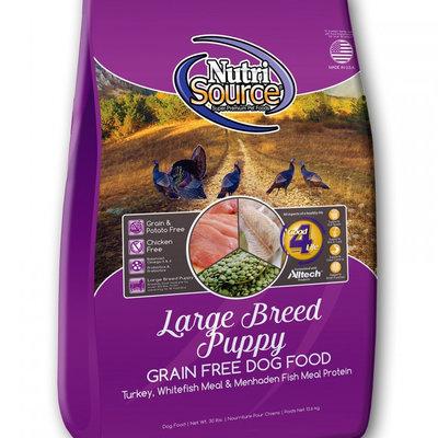 NutriSource Nutrisource Grain Free Large Breed Puppy 5#