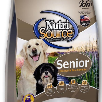 NutriSource NutriSource NS Senior Chicken Rice 5#