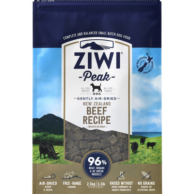 Ziwi Peak Ziwi Peak Air-Dried Dog Beef 5.5lbs