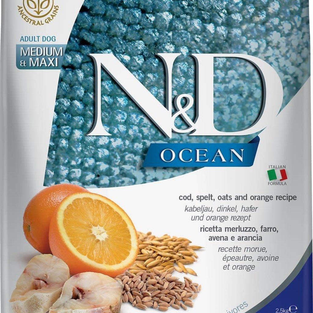 Farmina Farmina Ocean Cod & Orange Med/Maxi 26.5#