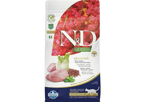 Farmina Farmina Cat Quinoa Digest Lamb 3.3#