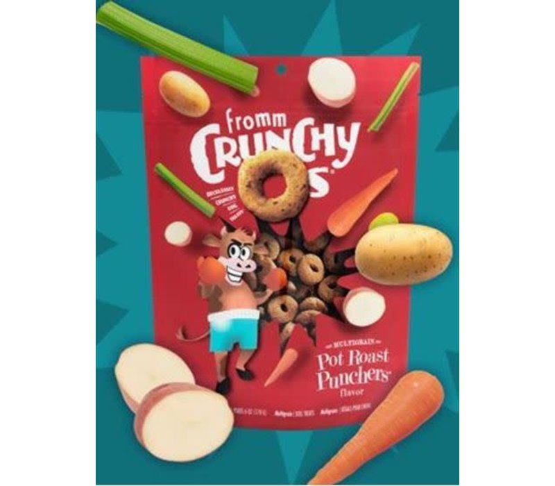 Fromm Crunchy Os Pot Roast Punchers 6oz