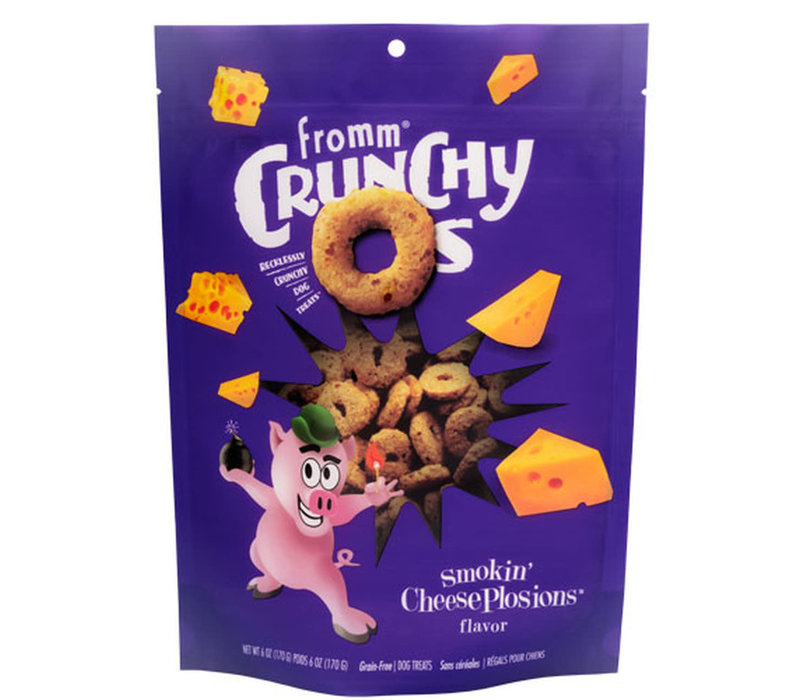Fromm Crunchy Os Smokin' Cheese Plosions 6oz