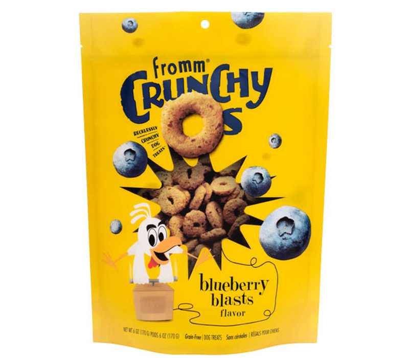 Fromm Crunchy Os Blueberry Blasts 6oz