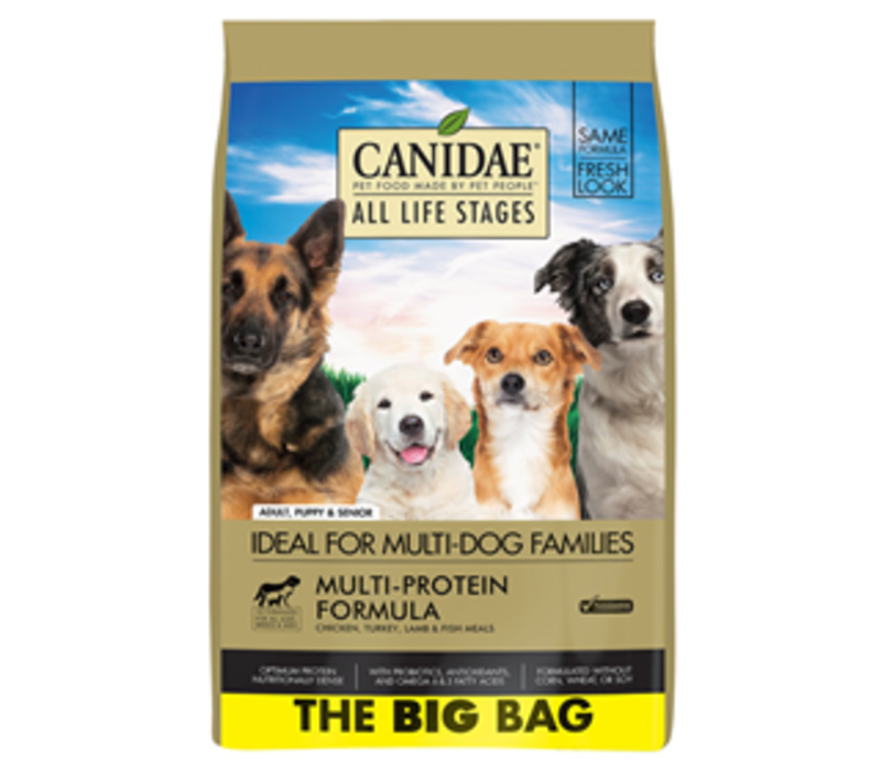 Canidae THE BIG BAG Multi Protein All Life Stages ALS 44 lbs