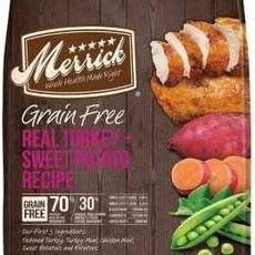 Merrick Merrick Grain Free Turkey 22#