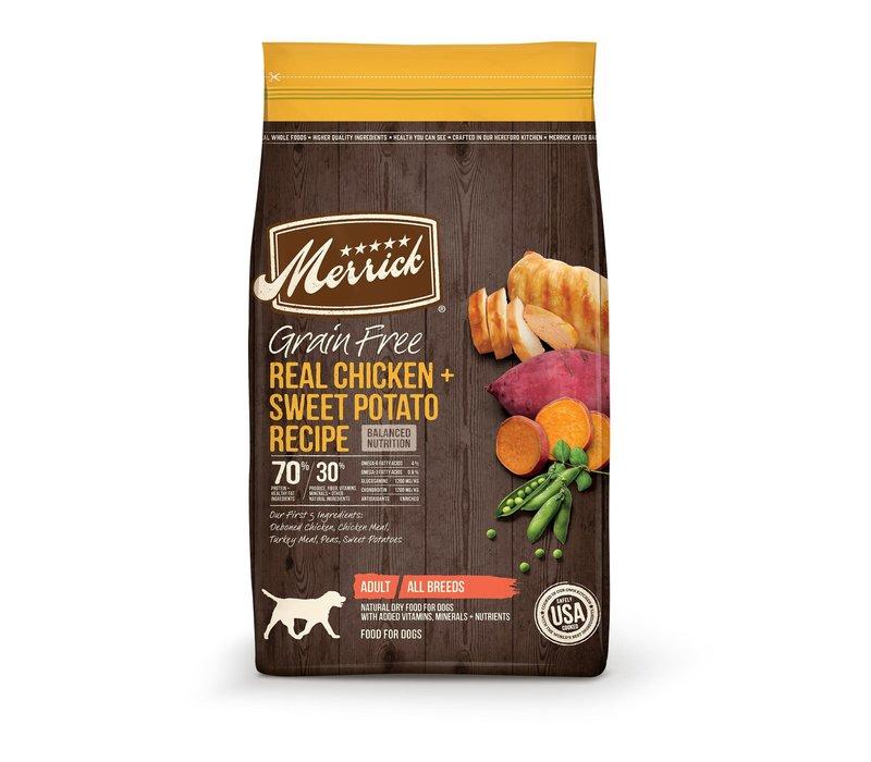Merrick GF Chicken 22lbs