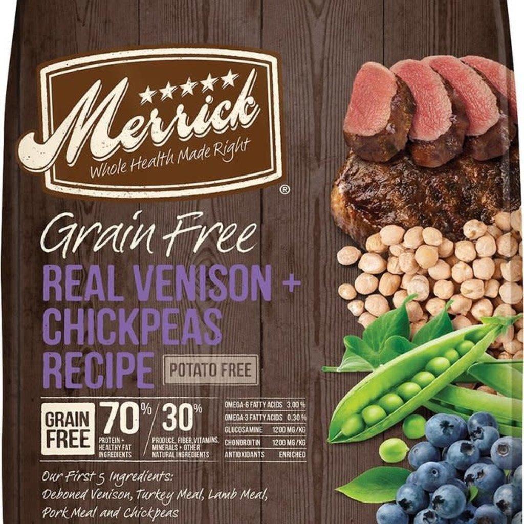Merrick Merrick GF Venison 22#
