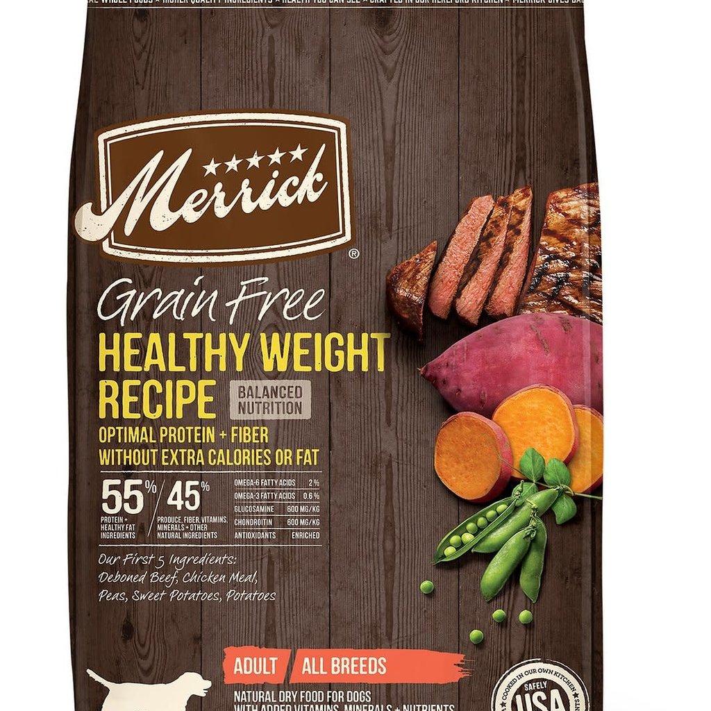 Merrick Merrick Grain Free Healthy Weight 22#