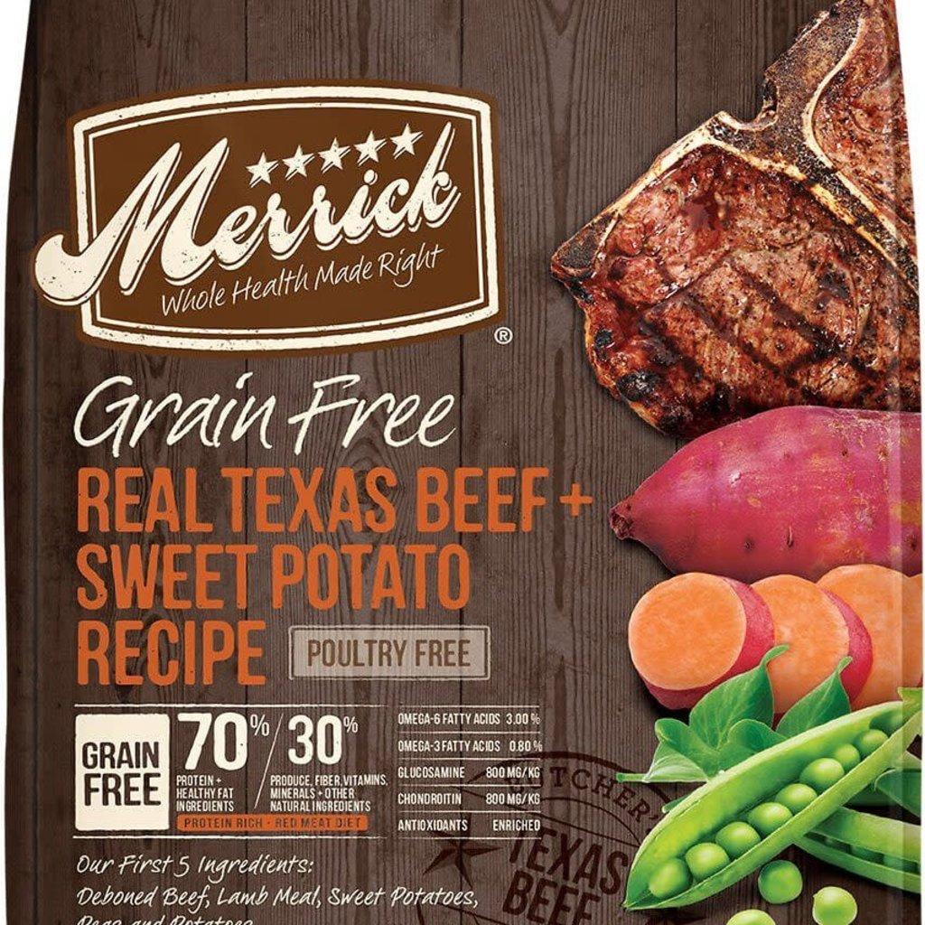 Merrick Merrick GF Beef  4#