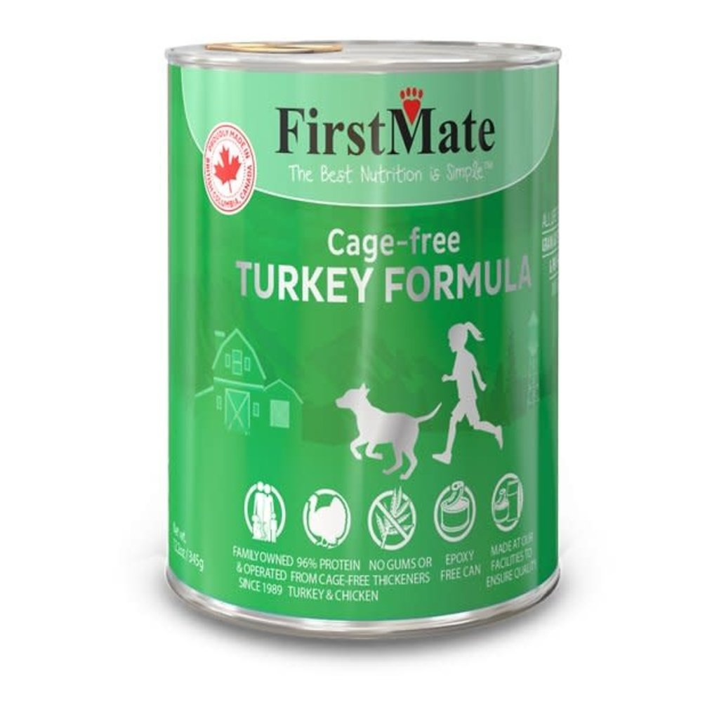 First Mate First Mate Grain Free Limited Ingredient Cage Free Turkey Dog 12.2oz