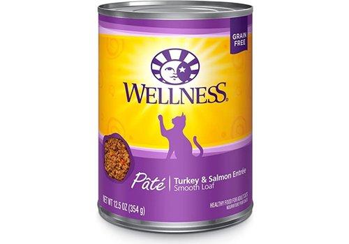 Wellness Wellness Turkey/Salmon 13oz