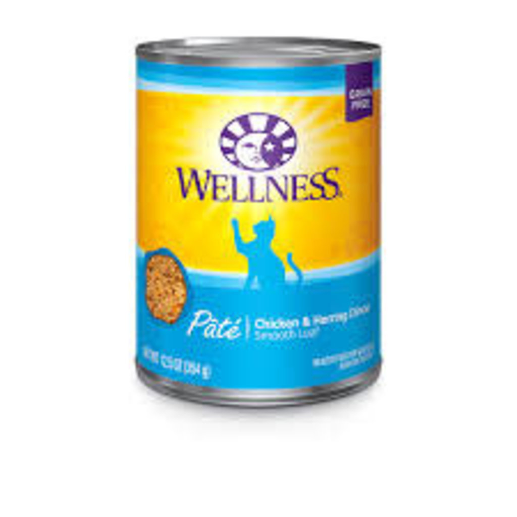 Wellness Wellness Chicken/Herri 13oz