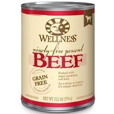 Wellness Wellness 95% Beef 13oz