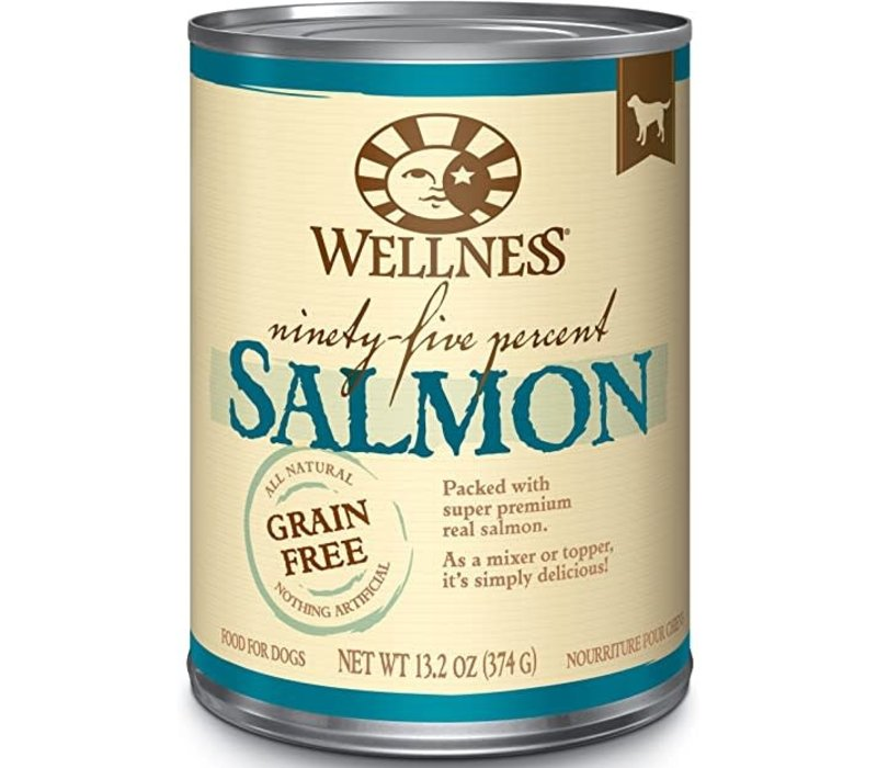 Wellness 95% Salmon 13oz