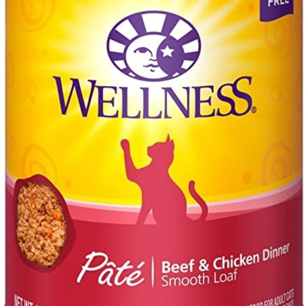 Wellness Wellness Beef/Chicken Cat 12.5oz