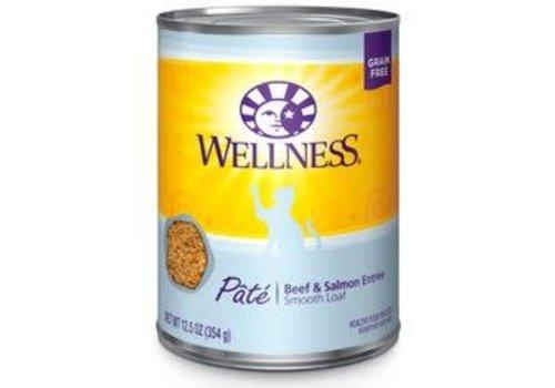 Wellness Wellness Beef/Salmon 13oz
