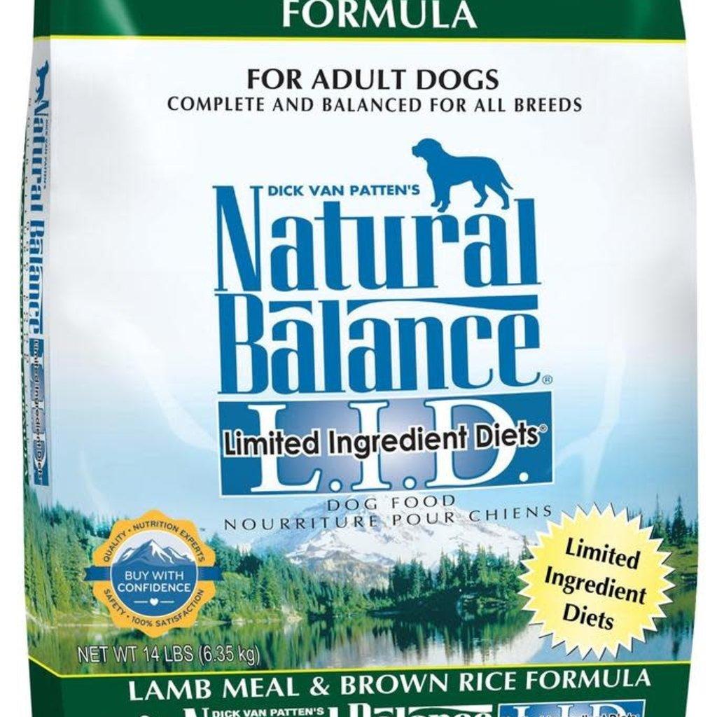 Natural Balance NB Lamb 14#