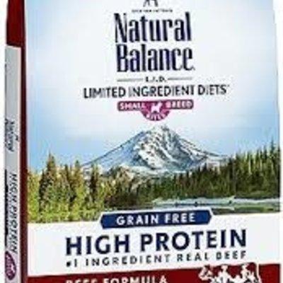 Natural Balance NB Beef SB LID 4#