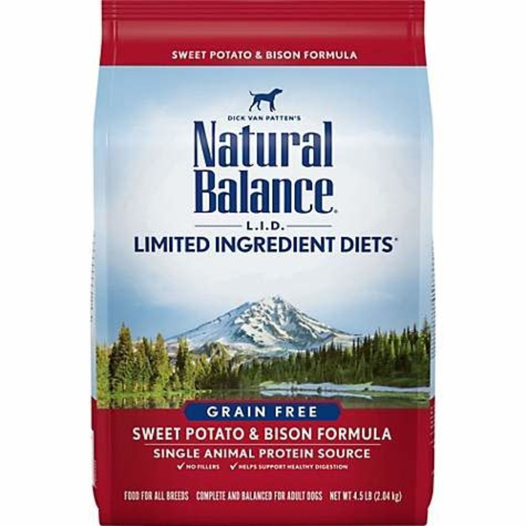 Natural Balance NB Bison 4.5lbs