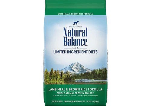 Natural Balance NB Lamb 4.5lbs