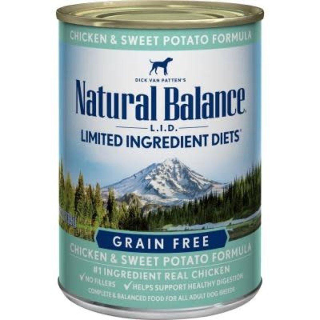 Natural Balance Natural Balance NB Chix/Pot 13oz