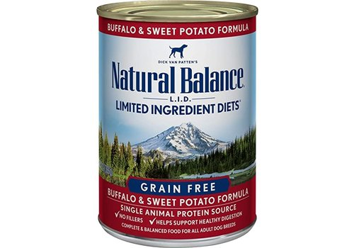 Natural Balance NB Buffalo 13oz