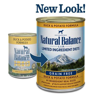 Natural Balance Natural Balance NB Grain Free Duck 13oz
