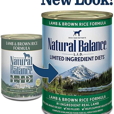 Natural Balance Natural Balance NB Lamb 13oz