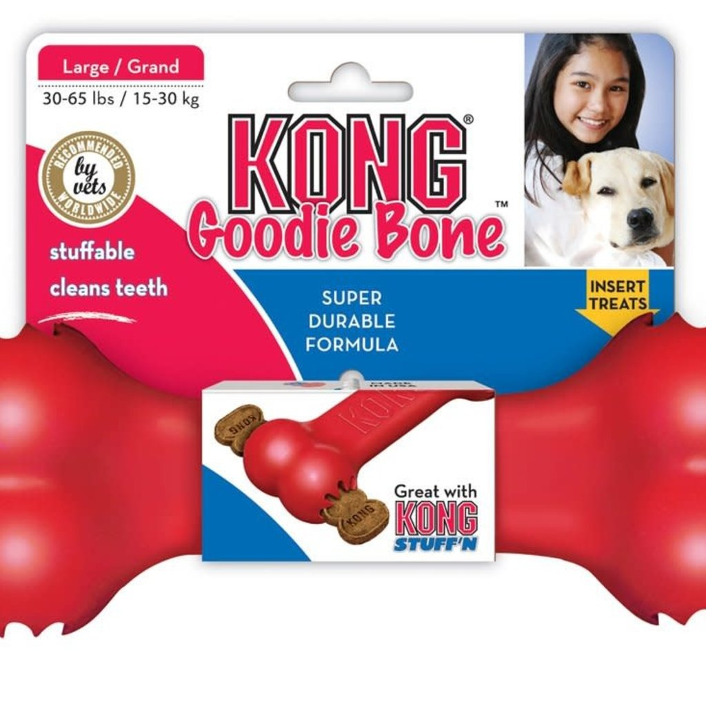 Kong Kong Goodie Bone Large Red