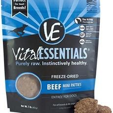 Vital Essentials Vital Essentials FD Beef Patties 1lb