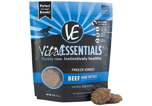 Vital Essentials Vital Essentials FD Beef Patties 1lb