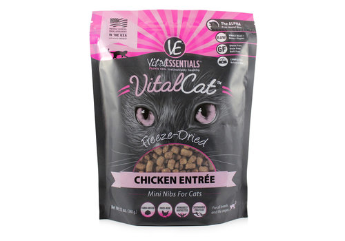 Vital Essentials Vital Essentials FD Chicken Mini Nibs Cat 12oz