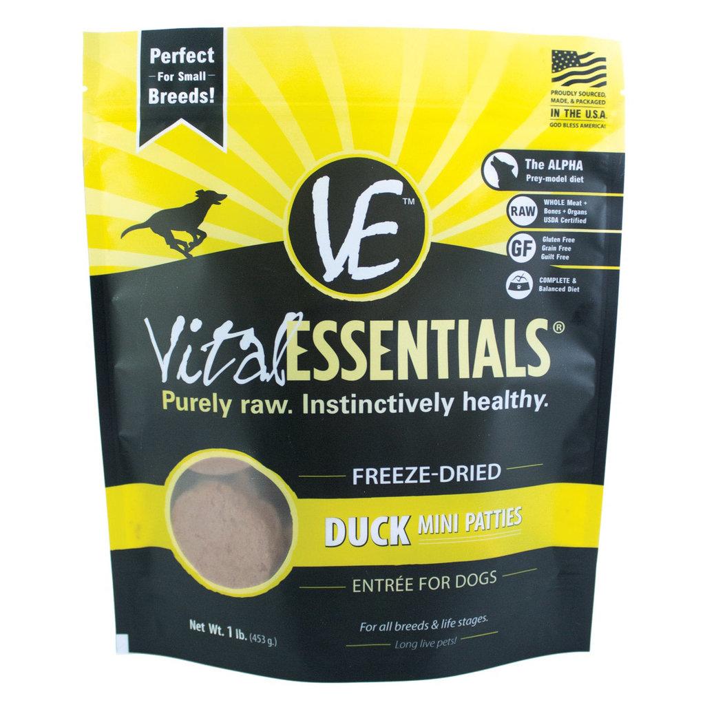 Vital Essentials Vital Essentials FD Duck Mini Patties 1#