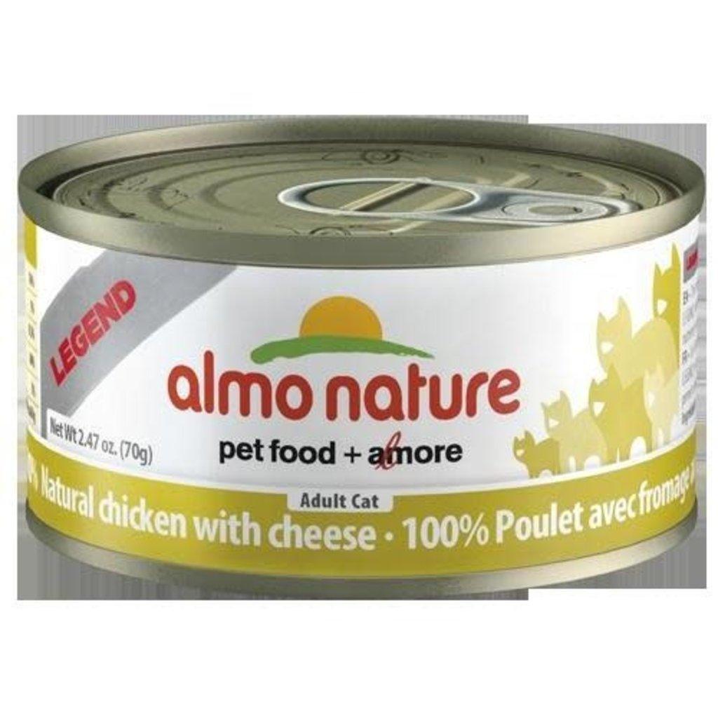 Almo Nature Almo Chicken/Cheese 2.47oz