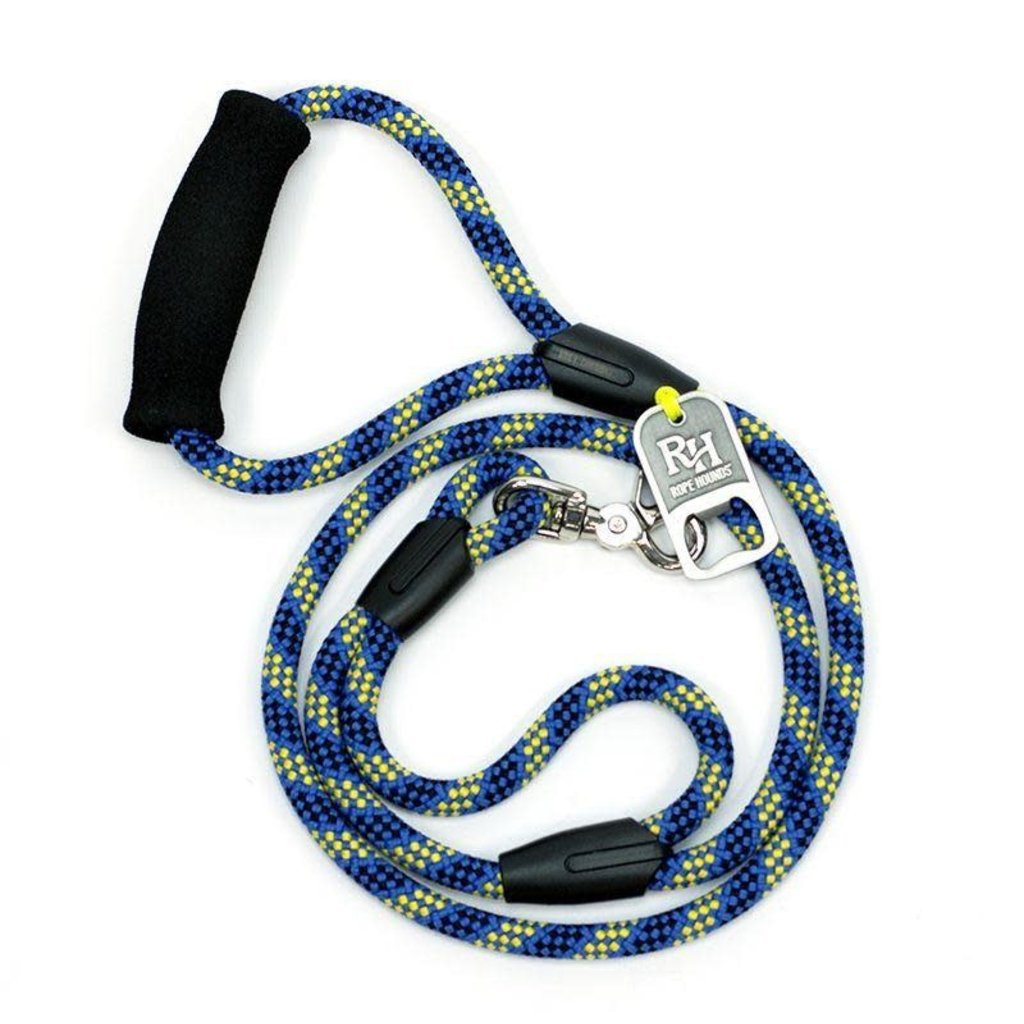 Rope Hounds 4' Leash w/ Bottle Open