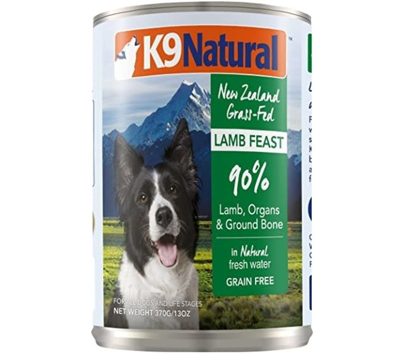 K9 Natural Dog Lamb 13oz