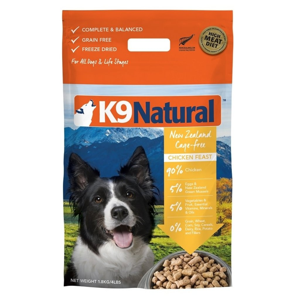 K9 Natural K9 Natural Freeze Dried Cage Free Chicken 1.1lbs