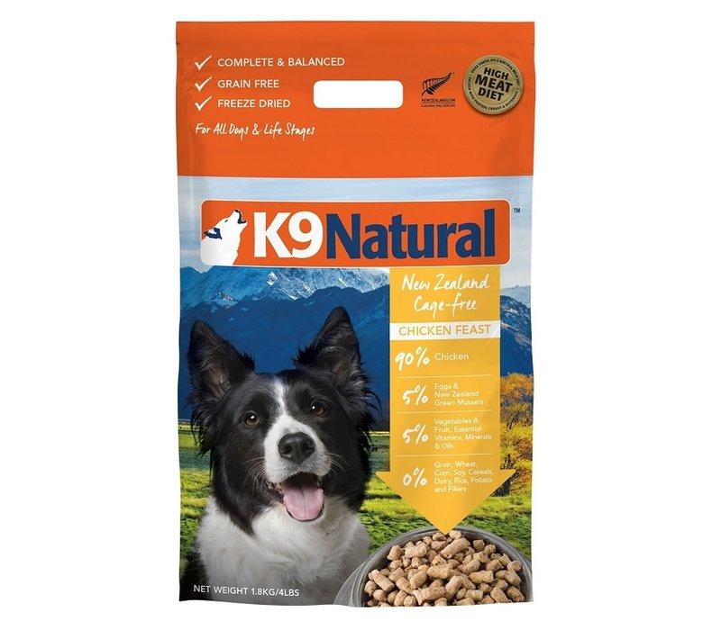 K9 Natural FRZ Dry Chix 0 .77#