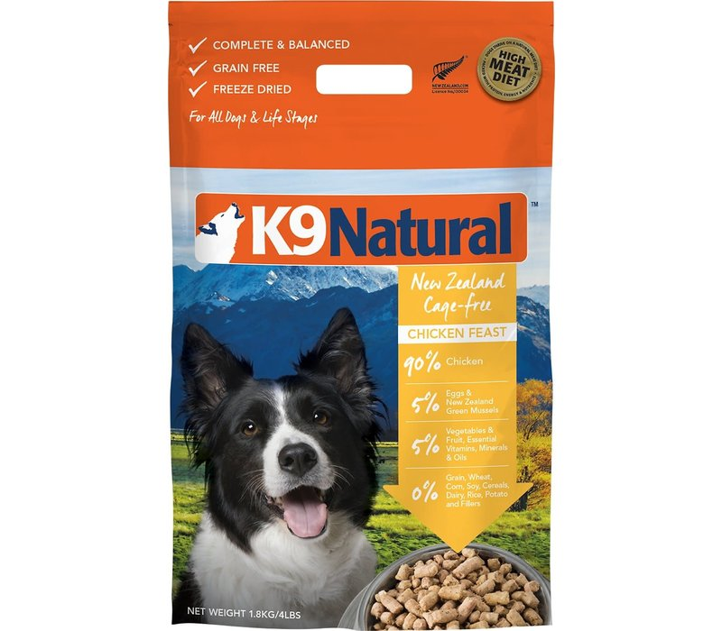 K9 Natural Freeze Dried Chicken 17.9oz