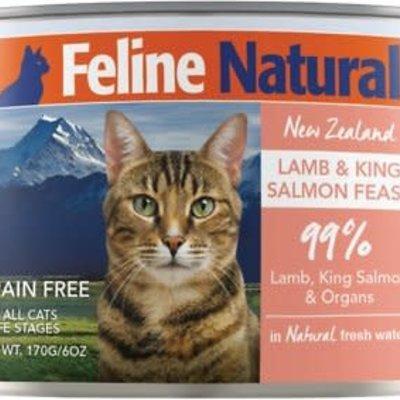 K9 Natural Feline Natural Grain Free Lamb & King Salmon 6oz